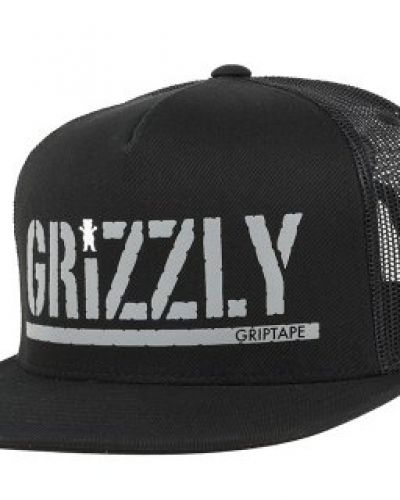 Keps Grizzly Griptape - Colored Bear Stamp Black Snapback från Grizzly Griptape