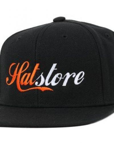 Hatstore - Script Black Snapback Hatstore keps till unisex/Ospec..