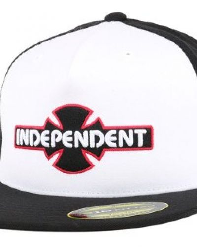 Independent - OGBC White/Black Fitted (S/M) Independent keps till unisex/Ospec..