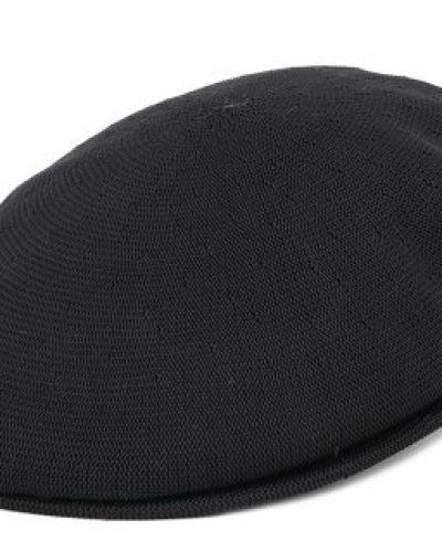 Kangol - Tropic 504 Black Flat Cap (S) Kangol keps till unisex/Ospec..