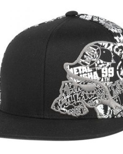 Keps Metal Mulisha - Habit Black/White Fitted (S/M) från Metal Mulisha