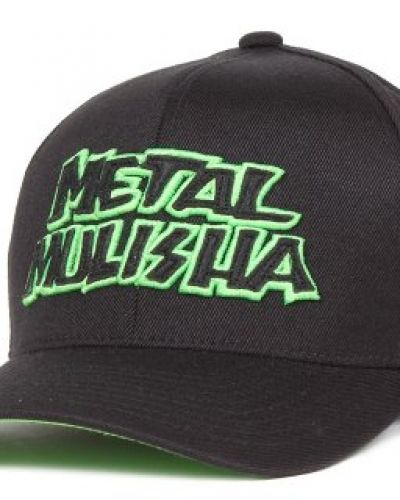 Keps Metal Mulisha - Regulation Curved Flexfit Black/Green (S/M) från Metal Mulisha