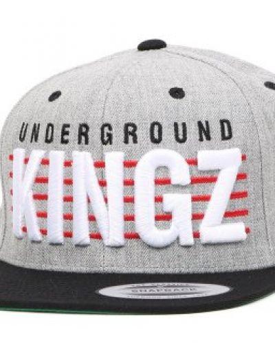 Mister Tee - Underground Kingz Grey/Black Snapback Mister Tee keps till unisex/Ospec..