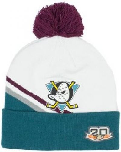 Mitchell & Ness Mitchell & Ness - Anaheim Mighty Ducks Team Jersey Cuff White