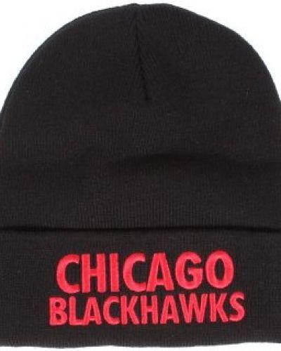 Mitchell & Ness - Chicago Blackhawks Headline Cuff Knit Mitchell & Ness mössa till unisex/Ospec..