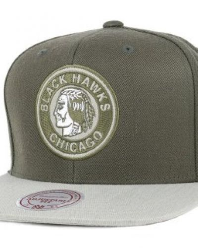 Mitchell & Ness Mitchell & Ness - Chicago Blackhawks Heather 2 Tone Khaki Snapback