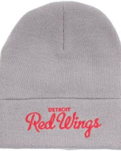 Mitchell & Ness Mitchell & Ness - Detroit Red Wings Team Talk Cuff Knit