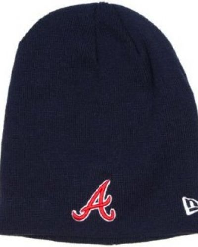 New Era - Atlanta Braves Basic Skull Knit Mössa New Era mössa till unisex/Ospec..