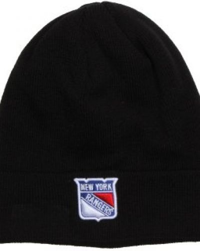 New Era New Era - NY Rangers Basic Cuff Black Knit