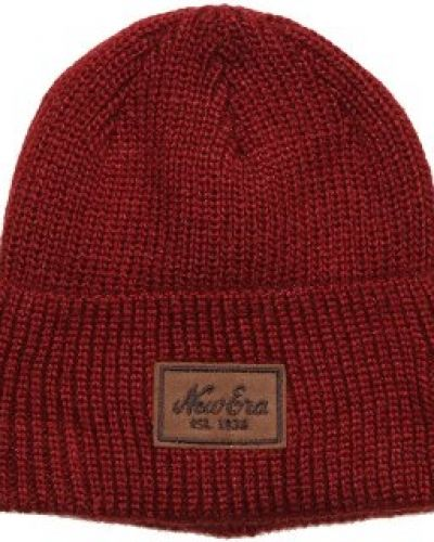 New Era New Era - Patched Wool Cardinal Beanie