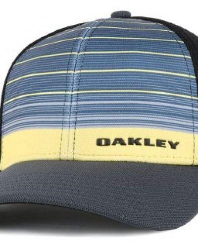 Oakley - Silicon Bark Trucker 4.0 Print Blazing Yellow Flexfit (S/M) Oakley keps till unisex/Ospec..