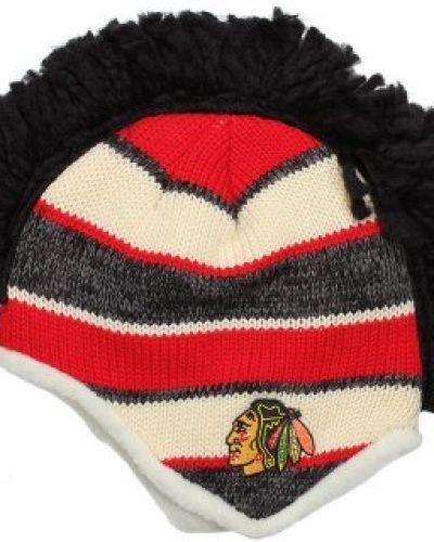 Reebok - Chicago Blackhawks Faceoff Mohawk Knit Reebok mössa till unisex/Ospec..