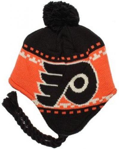 Reebok - Philadelphia Flyers Faceoff Tassle Knit Pom Reebok mössa till unisex/Ospec..