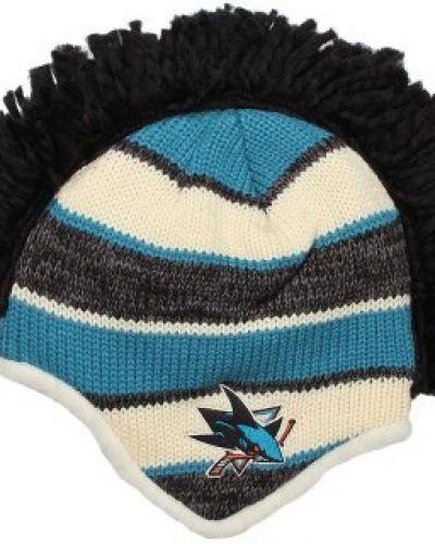 Mössa Reebok - San Jose Sharks Faceoff Mohawk Knit från Reebok