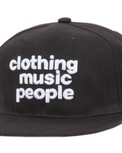 Somewear - C-M-P Black Snapback Somewear keps till unisex/Ospec..