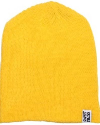 Sweet Sweet - Ribbed Yellow Beanie