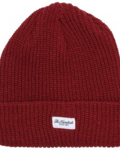 The Hundreds - Crisp 2 Burgundy Beanie The Hundreds mössa till unisex/Ospec..