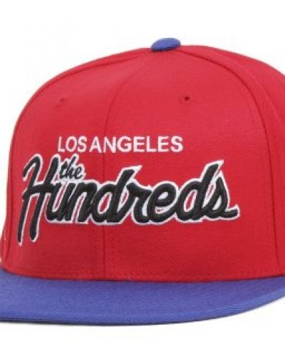 The Hundreds - Team Two Snapback Red The Hundreds keps till unisex/Ospec..