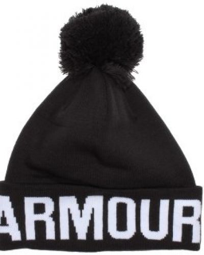 Under Armour Under Armour - Graphic Pom Pom Black Beanie