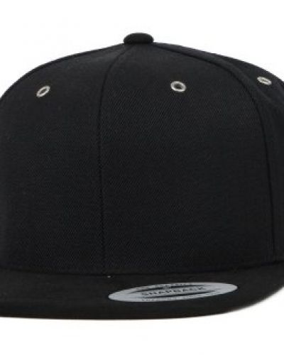 Yupoong Yupoong - Suede Black Snapback