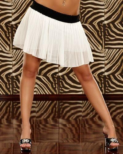 Kjol Mona Vit Övriga studentklänning till tjejer.