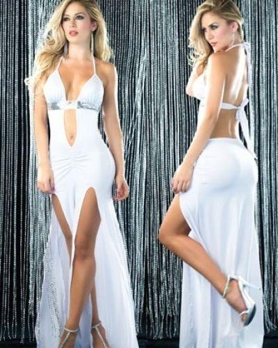 Festklänning Klänning Cassidy Vit från Övriga