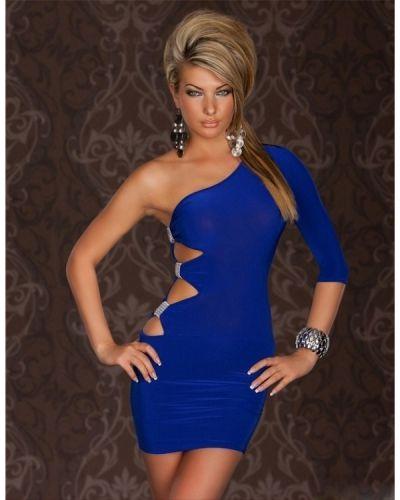 Klänning Ariane Blå Majsans
