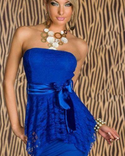Till dam från Övriga, en blå klänning.