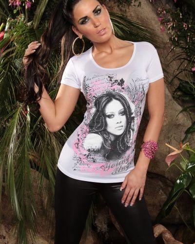 """T-shirts """"T-shirt Jochebed Vit (M/L)"""" från Övriga"""