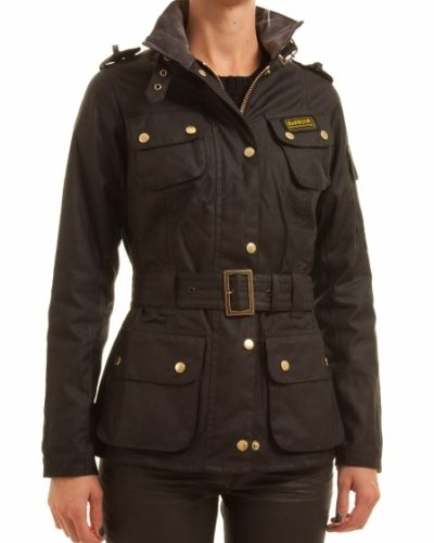 Barbour BARBOUR LADIES INTERNATIONAL JACKET BLACK - 44/UK18