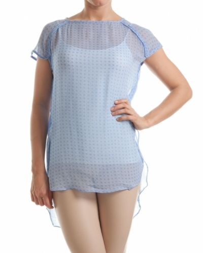 Blus Hunkydory blus brent clear blue från Hunkydory