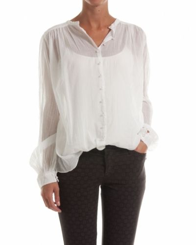 Hunkydory HUNKYDORY BLUS ESSENTIAL LEWIS TOP WHITE - Large