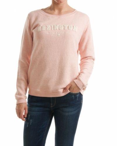 Rosa tröja från Lexington till dam.