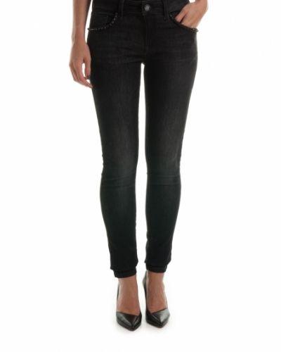 MOS MOSH JEANS ROSE BLACK - 32 Mos Mosh jeans till dam.