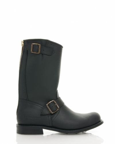 PRIMEBOOTS ENGINEER MID 16 BLACK - 41 Primeboots sko till dam.