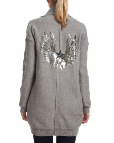 Saint Tropez SAINT TROPEZ KOFTA WITH ARTWORK LIGHT GREY - Large