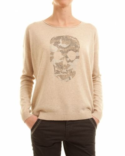 Saint Tropez SAINT TROPEZ TRÖJA KNIT WITH SKULL - Medium