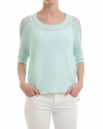 Saint Tropez SAINT TROPEZ TRÖJA MIX KNIT - Large