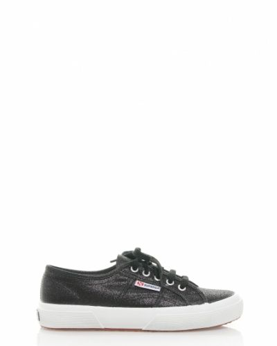 Superga sneaker black metallic Superga sko till dam.