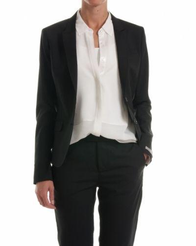 svart kostym dam