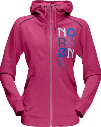 Norröna /29 Cotton Zip Hood Women's XS, Setting Sun