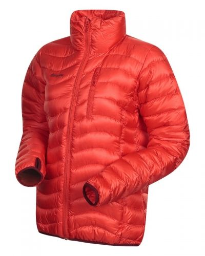 Bergans Cecilie Down Jacket S, BR RED/WINE