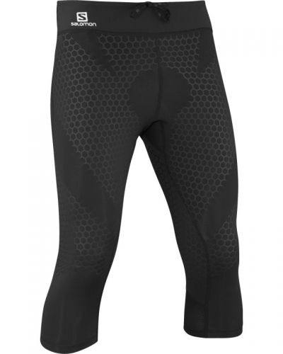 EXO 3/4 Tight M L, Black Salomon kompressionstights till herr.