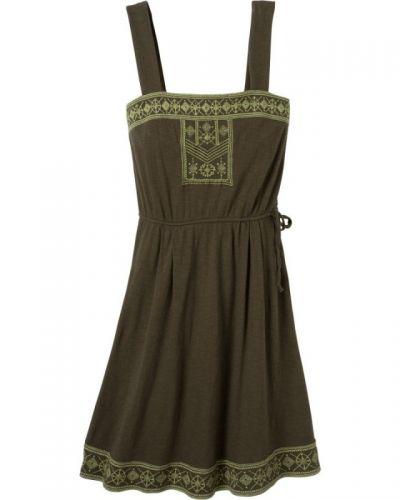 Grön klänning från Prana till dam.