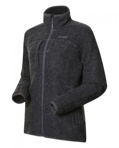 Bergans Myrull Outdoor Lady Jacket L, Dark Grey Mel
