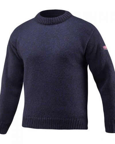 Nansen Sweater S, DARK BLUE MEL Devold vardagströja till herr.