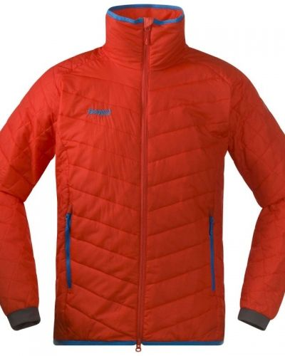 Bergans Nosi Insulated Jacket XL, Bright Red/Light Seablue