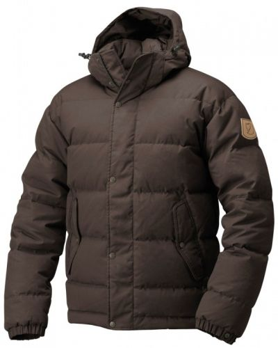 Fjallraven Övik Jacket XL, Black/Brown