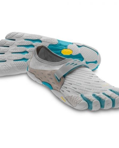 Fivefingers SeeYa Women's 37, Light Grey / Blue