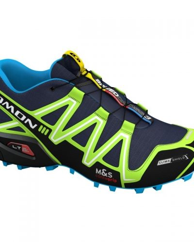 Löparsko Speedcross 3 CS UK11 / EU46, Lake/Fluo Green/Fluo Blue från Salomon